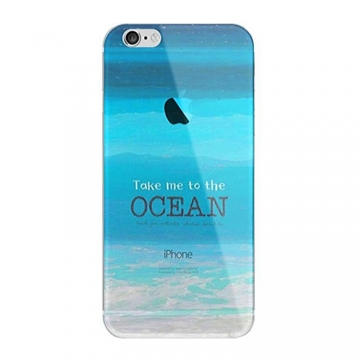 ETUI NA TELEFON IPHONE 5/5S - TAKE ME TO THE OCEAN ETUI16WZ22