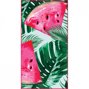 Beach towel rectangular 170x90 Watermelon REC46WZ1