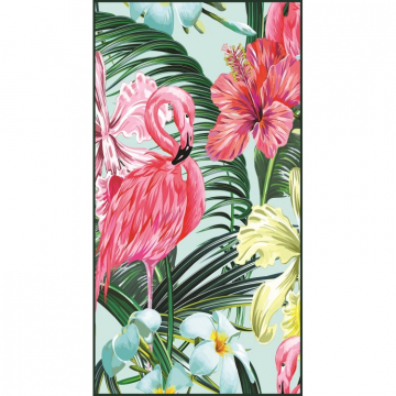 Rectangular beach towel 170x90 Flaming REC46WZ2