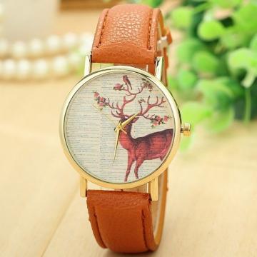 Zegarek jeleń brąz Z135BR